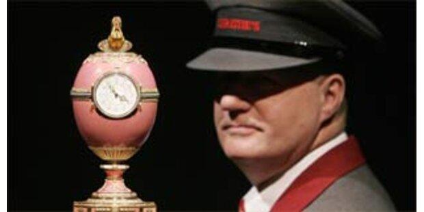 Faberge-Ei bringt 12,5 Millionen Euro bei Auktion