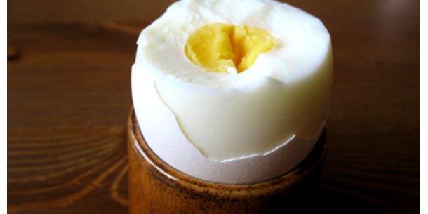Eier zum Frühstück und die Kilos schmelzen