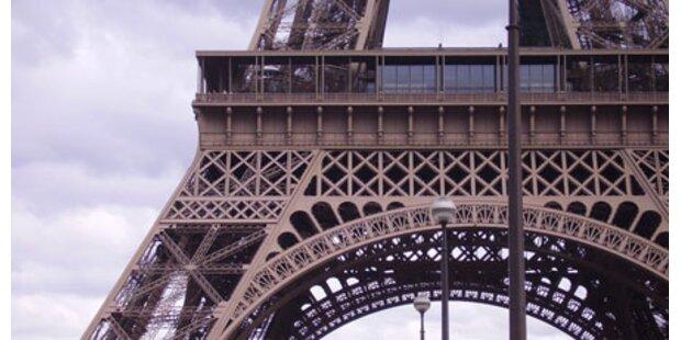 Eiffelturm wegen Streiks geschlossen