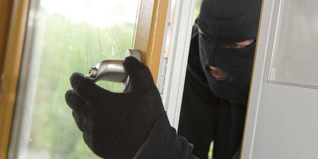 Das sollten Sie tun, wenn Einbrecher im Haus sind