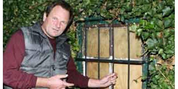 Einbrecher mit Pfefferspray verjagt