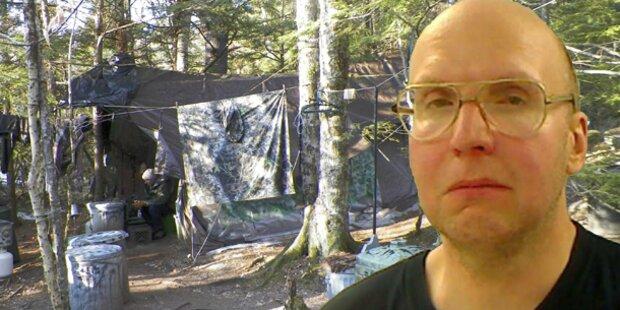 Einsiedler lebte 27 Jahre lang im Wald