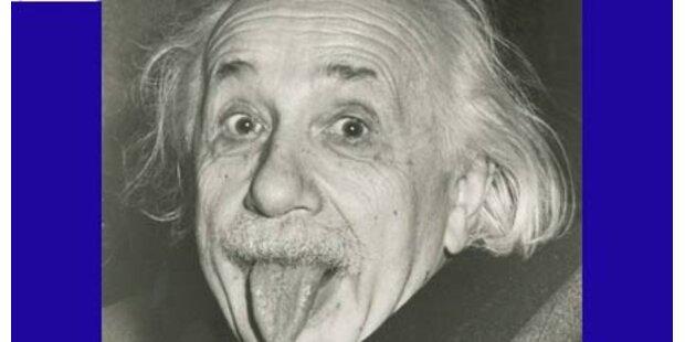 Einsteins Zungenfoto ist 50.000  wert