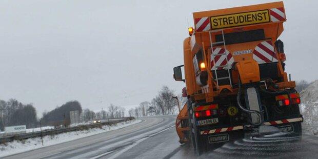 Achtung Autofahrer: Blitzeis möglich