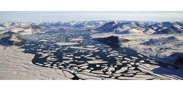 Gigantischer Eisberg in Arktis abgebrochen