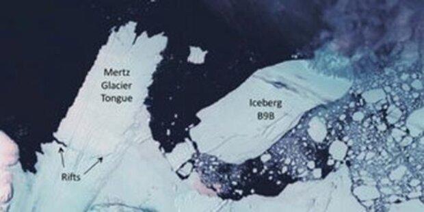 Mega-Eisberg bricht in Antarktis ab