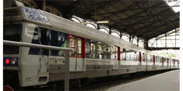 Eisenbahner-Streik in Frankreich begonnen