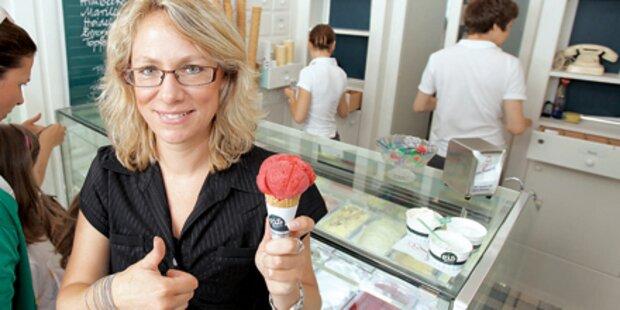 Eis-Greissler: Extravagantes Bio-Eis