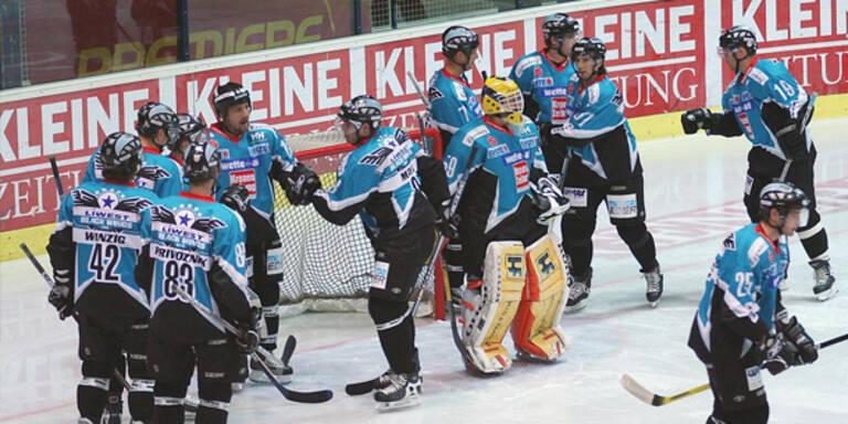 Spitzenreiter Linz gewann in Salzburg 5:3