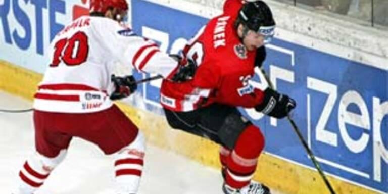 Eishockey: Österreich-Polen