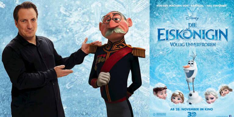 Palfrader für Disney als Herzog von Pitzbühl in Die Eiskönigin