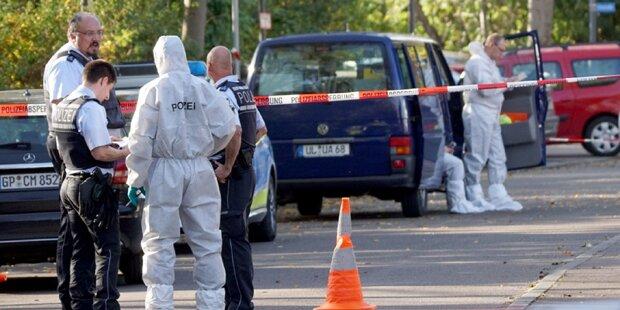 Passanten finden drei Tote in Tiefgarage