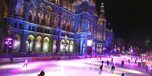 Am 22. Jänner öffnet Wiener Eistraum