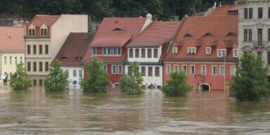Hochwasser Elbe