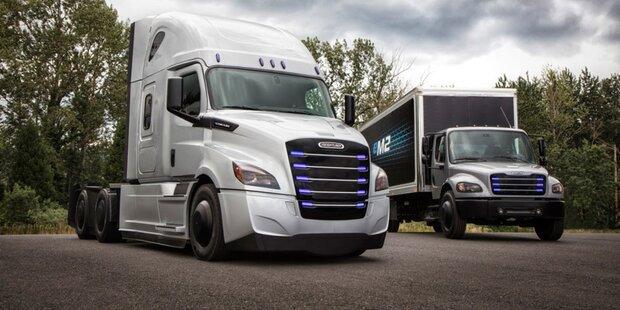 Daimler greift Tesla mit Elektro-Lkws an