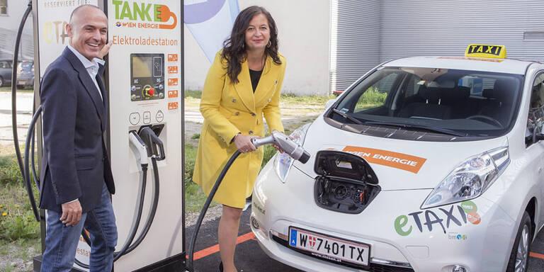 Neue Elektro-Taxis erobern Wien