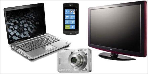 Erneuter Preissturz bei Elektronik-Geräten