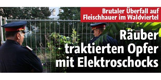 Diebe traktierten Opfer mit Elektroschocks