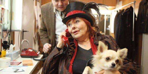 Elfriede Ott als entführter Kinostar