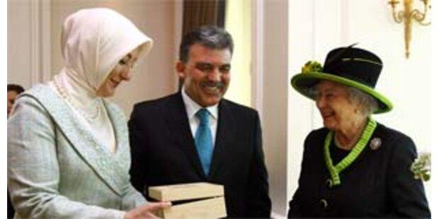 Britische Königin in der Türkei