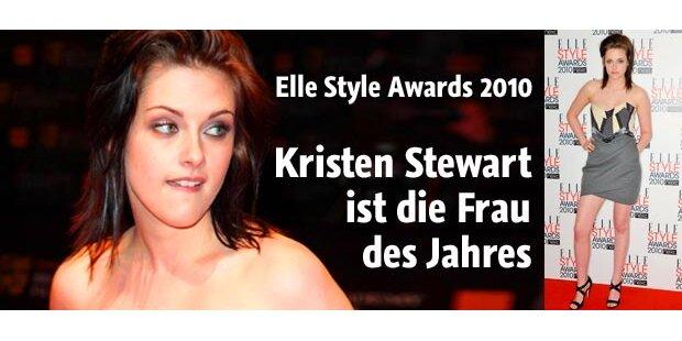Fashion-Auszeichnung für Kristen Stewart