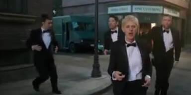 Ellen macht Stimmung für die Oscar-Gala
