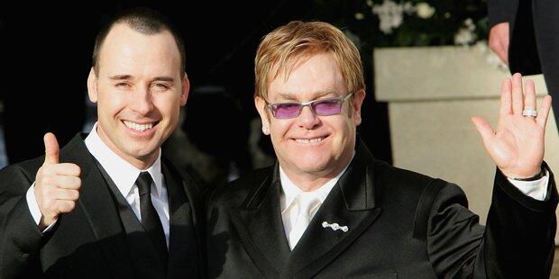 Elton John will dieses Wochenende heiraten