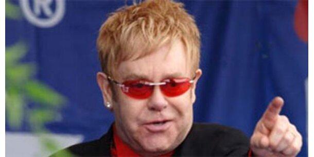 Eltons Vermögen auf 175 Mio geschrumpft