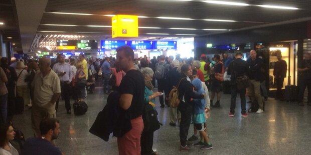 Flugbetrieb in Frankfurt normal angelaufen