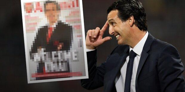 Arsenal: Layout-Panne sorgt für Lacher