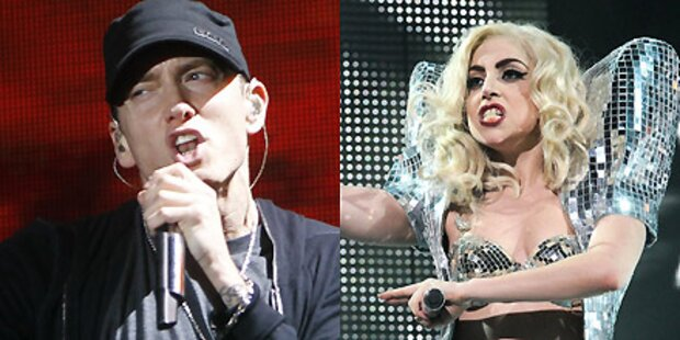 Eminem und Lady Gaga rocken Grammys
