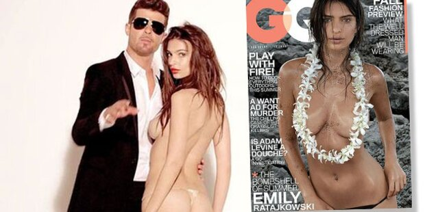 Emily Ratajkowski: Fast nackt auf GQ-Cover