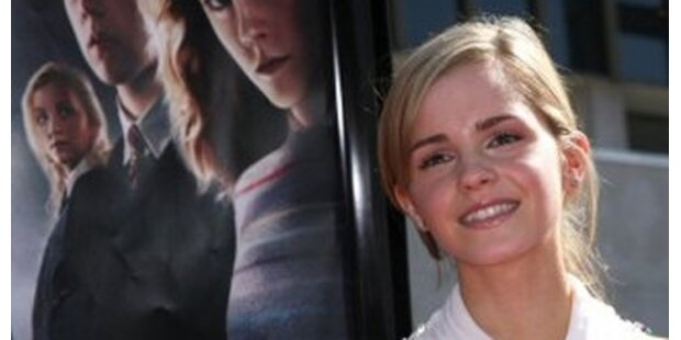 Emma Watson posiert für Karl Lagerfeld