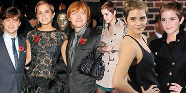 Emma Watson Premieren Style Harry Potter