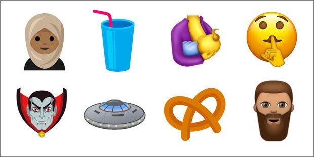 """""""Frau mit Kopftuch""""-Emoji kommt"""