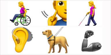 Bald kommen Rollstuhl-Emoji & Co.