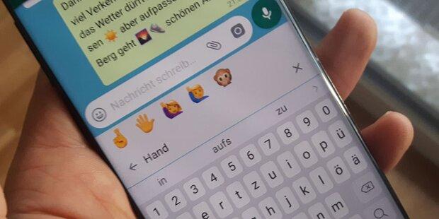 WhatsApp bringt völlig neue Emojis