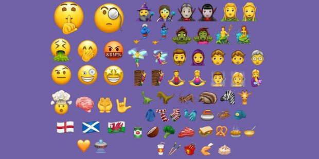 So cool sind die 56 neuen Emojis