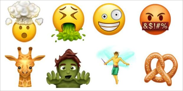 69 coole neue Emojis kommen