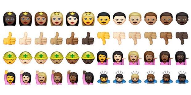 Homosexuelle Emojis sollen gelöscht werden