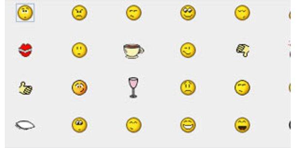 Geschäftsmann lässt Emoticon patentieren