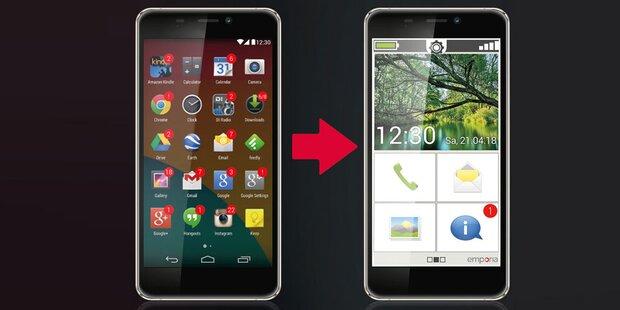 Emporia bringt innovative Smartphone-App