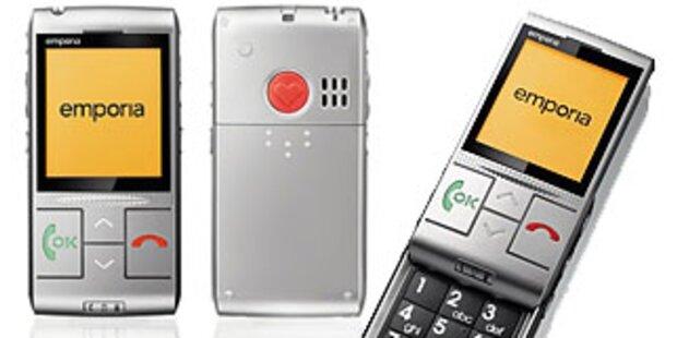 Emporia bringt neues Handy für Generation 50+