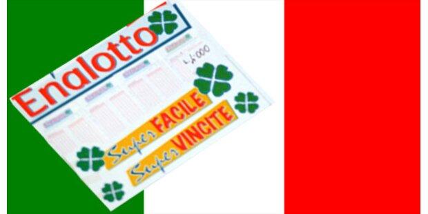Italiens Lotto-Jackpot nicht geknackt