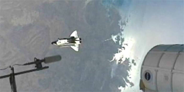"Shuttle ""Endeavour"" tritt letzte Heimreise an"