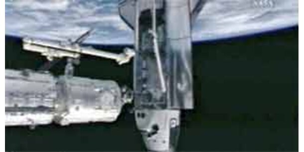 Erstmals neues Weltraumlabor Kibo betreten