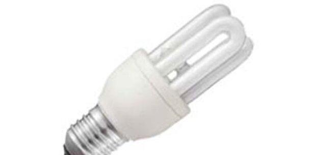 Energiesparlampe im schlechten Licht
