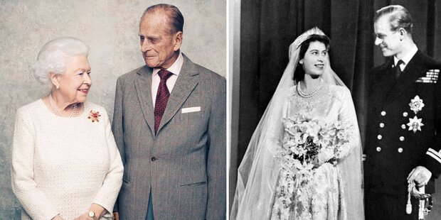 Queen Elizabeth & Philip: 70 Jahre Ehe