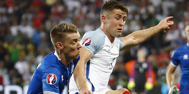 Island siegt gegen England 2:1