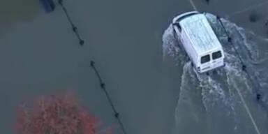 Dramatisch: England steht unter Wasser